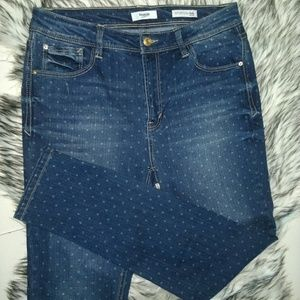 Kensie Jeans with Polkadots
